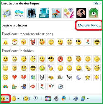 Emotions no Msn