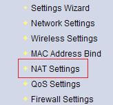 NAT no Router Mymax