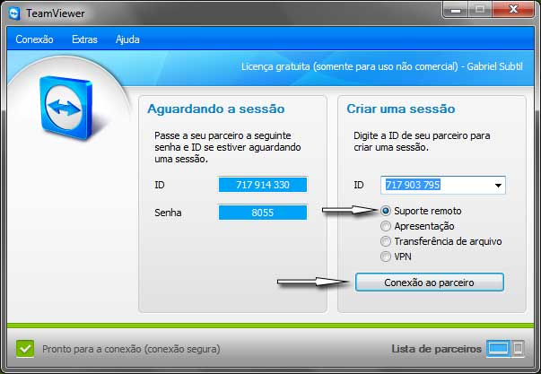 TeamViewer - Console