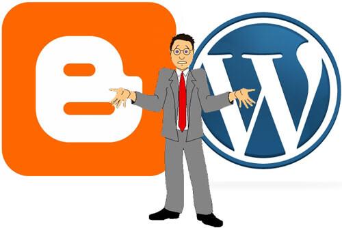 Blogger e WordPress