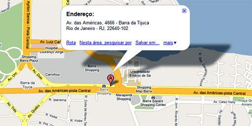 Endereço - iTown - Rio de Janeiro