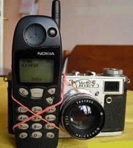 Celular com Câmera!