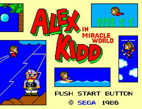 Alex Kidd - The Miracle World