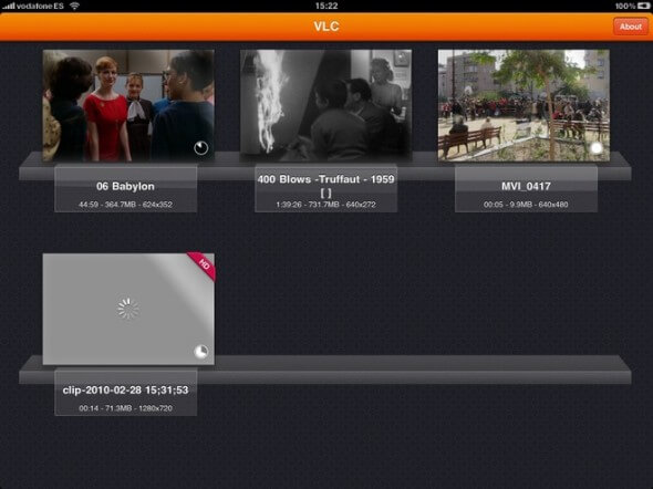 VlC Player no iPad