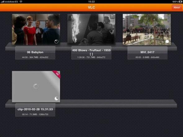 VlC Player no iPad