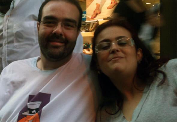 Eduardo Sales e Dona Maira Moraes