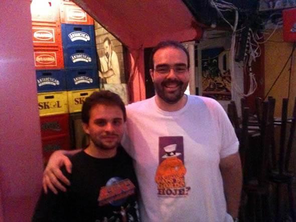 Gabriel Subtil e Eduardo Sales