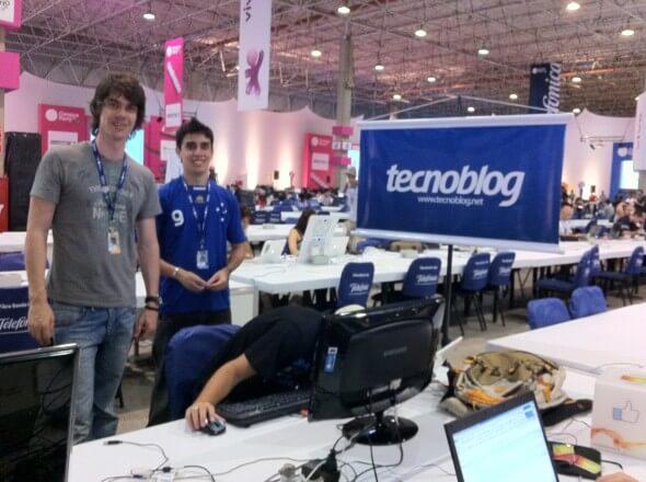 Pessoal do Tecnoblog na Campus Party