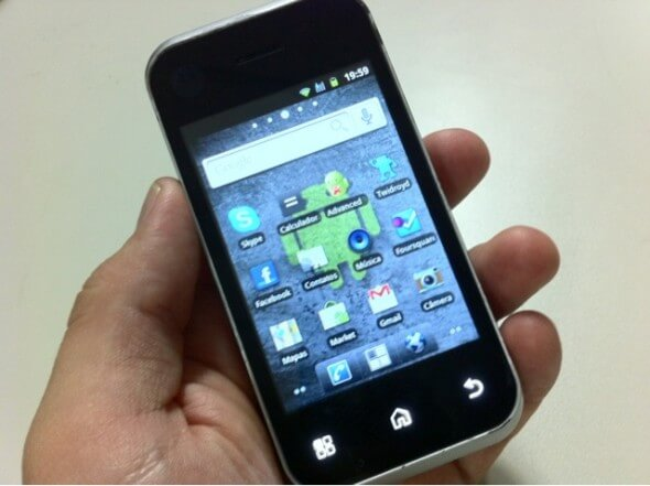 Motorola BackFlip com Android 2.1
