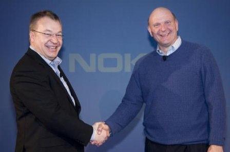 Parceria da Nokia e Microsoft