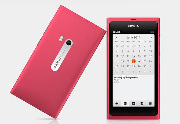 Nokia N9 Rosa