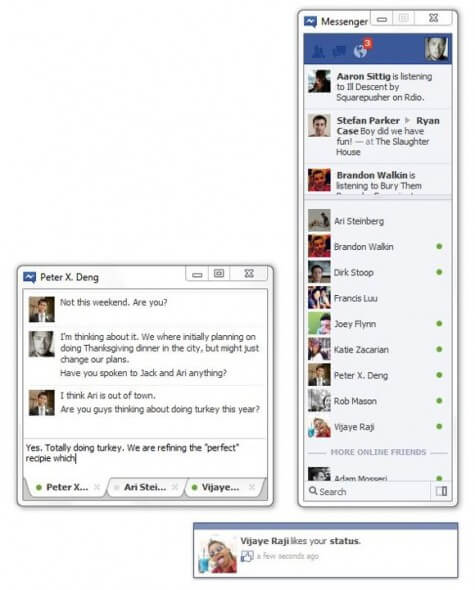 Chat Facebook Instant Messenger para Windows