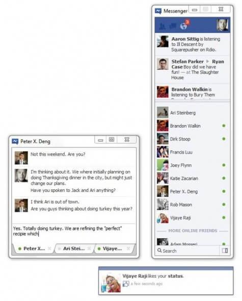Chat Facebook Instant Messenger para Windows