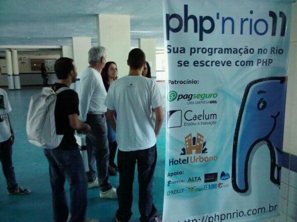 Chegando no PHPrio 2011