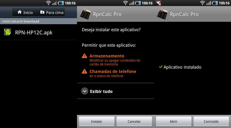 Instalando Apk no Android