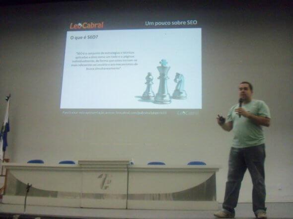 Léo Cabral fala sobre SEO x Velocidade de carregamento