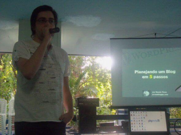 Nando Ticon do Jovem Blogger