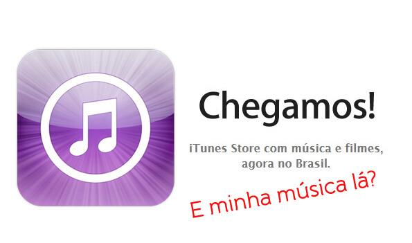 Tutorial iTunes Store Brasil