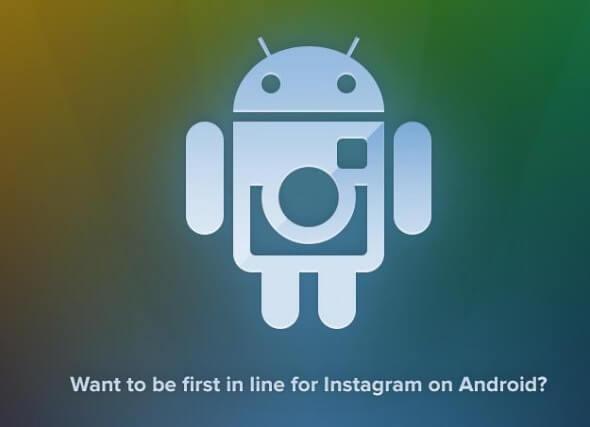 Possível Logo Oficial do Instagram no Android
