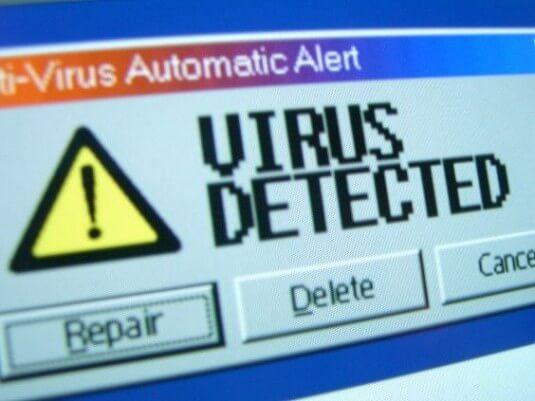 Alerta de Vírus