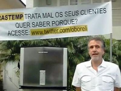 Oswaldo Borrelli, SP - Consumidor que reclamou no youtube.