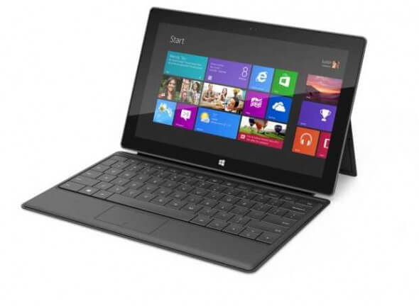 O Tablet Microsoft Surface