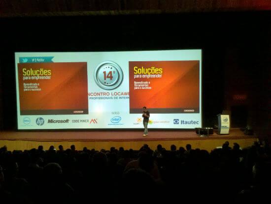 Gilberto Mautner, presidente da Locaweb, apresenta o 14 Encontro Locaweb