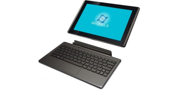 Tablet Asus Transformer rodando windows 8