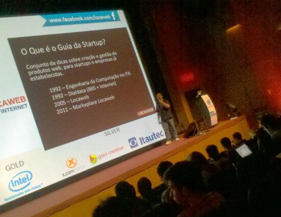 Guia da Startup: Como criar e gerenciar produtos web rentáveis. - Joaquim Torres, no 14 Encontro Locaweb
