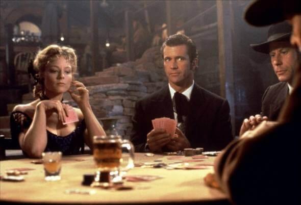 Mel Gibson em Maverick, 1994