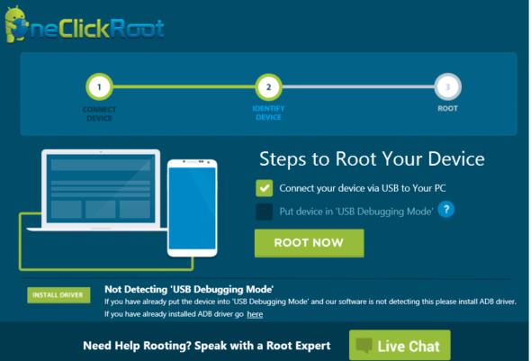 OneClickRoot