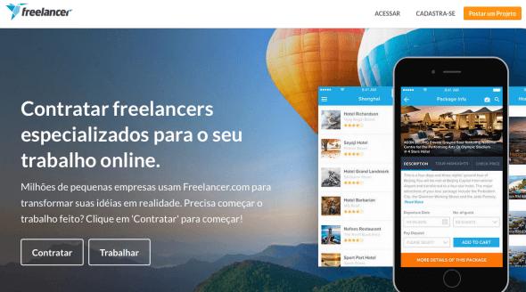 Freelancer - Website