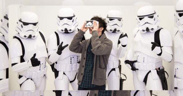 Google Headsets Star Wars
